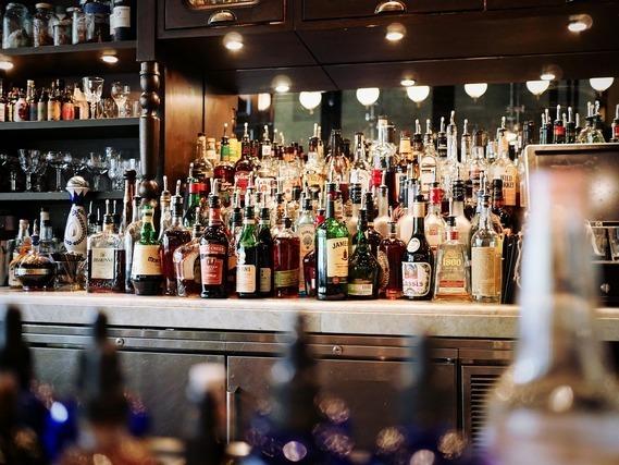 バーにあるお酒