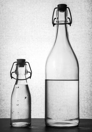 瓶のインテリア