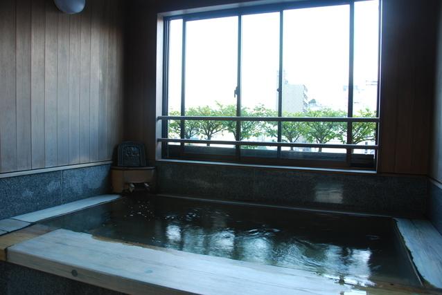 大きな窓のお風呂