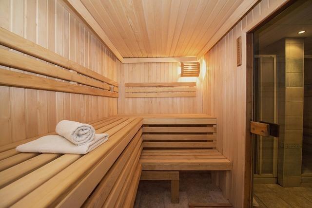 ウッド調のお風呂場