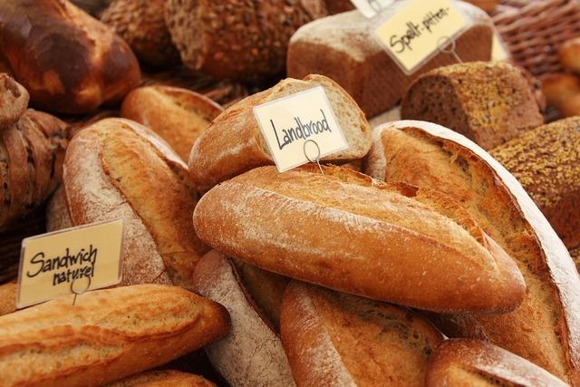 山盛りのパン