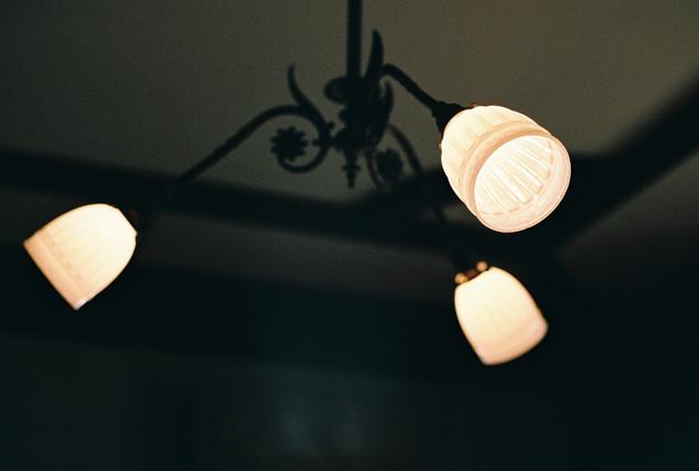アンティークなライト