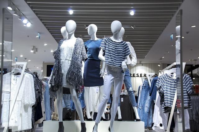 ファッションのディスプレイ
