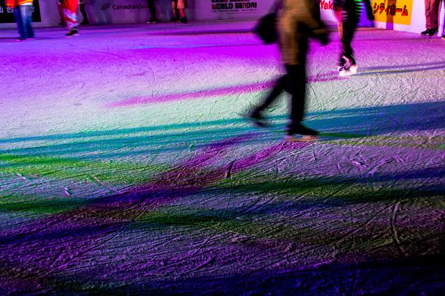 アイススケートのリンク
