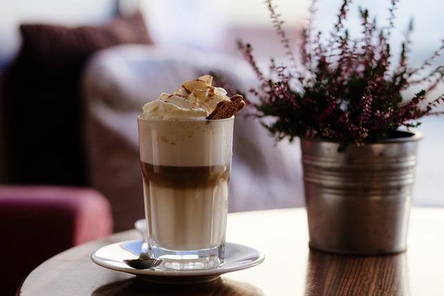美味しそうななコーヒー系ドリンク