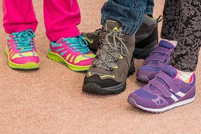 小学生の足に合った靴