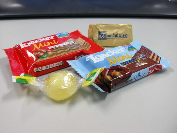 色々なお菓子