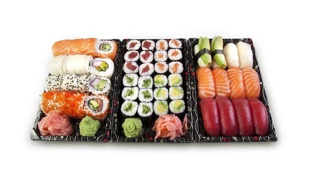 豪華なお寿司