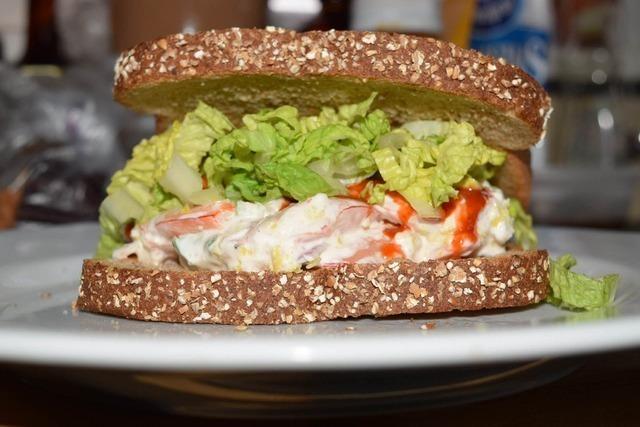 海老サンドイッチ