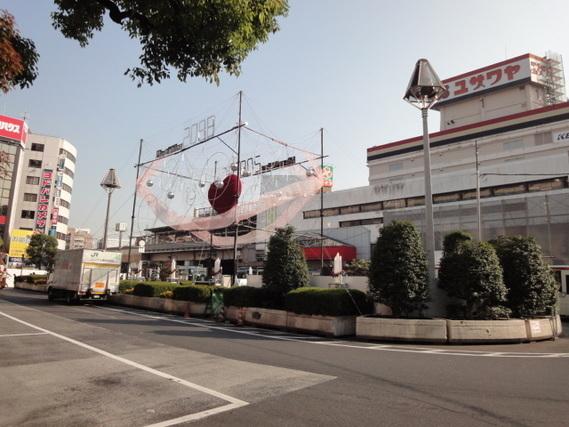 吉祥寺駅にあったユザワヤ