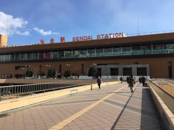 仙台駅西口の駅前広場