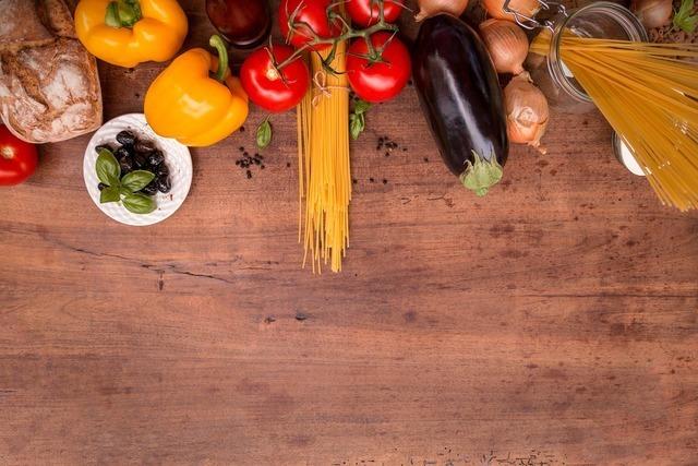 野菜とパスタ