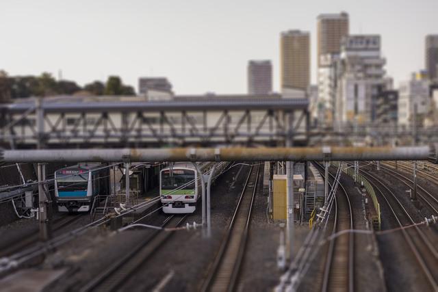 鶯谷駅の線路