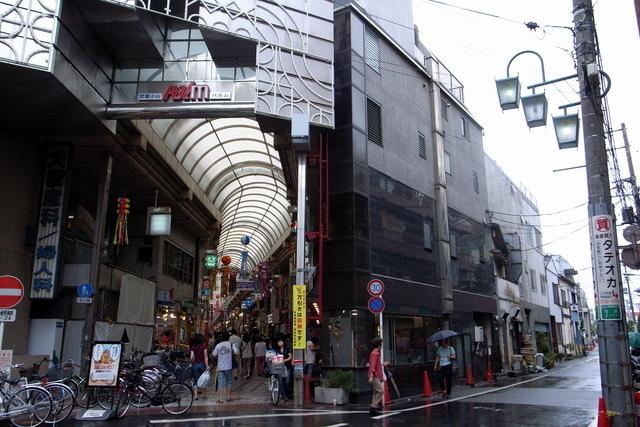 武蔵小山商店街パルム入口