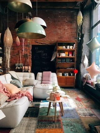 こだわりのソファースペース