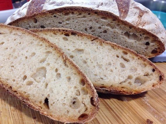 切ったフランスパン
