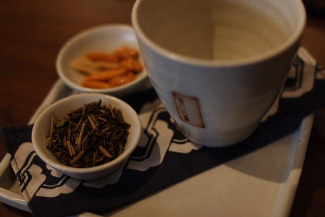 茶葉と茶器