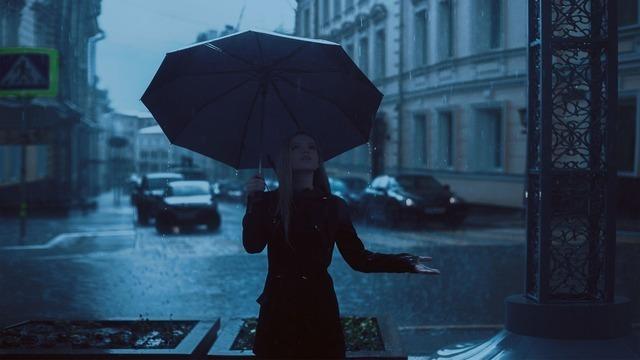 雨の降り方