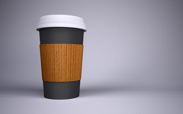 コーヒーのカップ