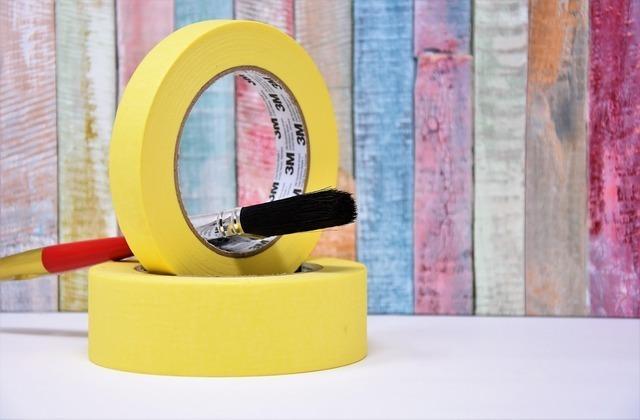 黄色いテープ
