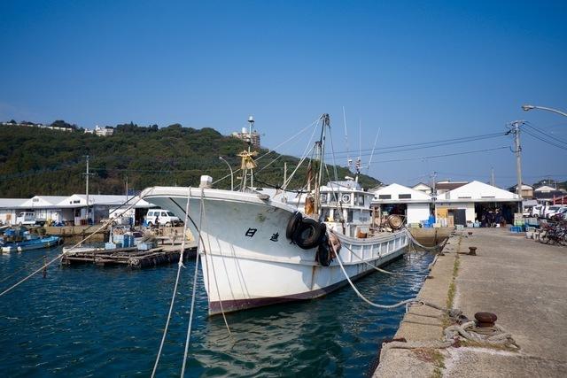日本の漁船
