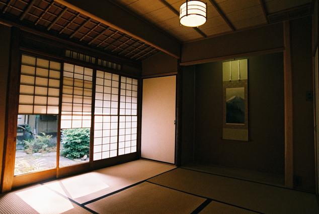 畳敷きの和室