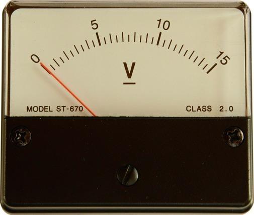 電圧を確認する機器