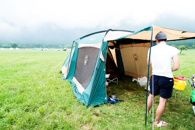 キャンプ2