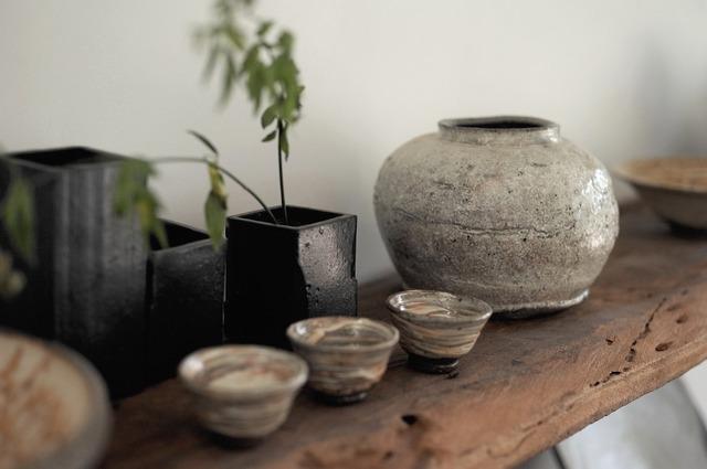 陶器の置物