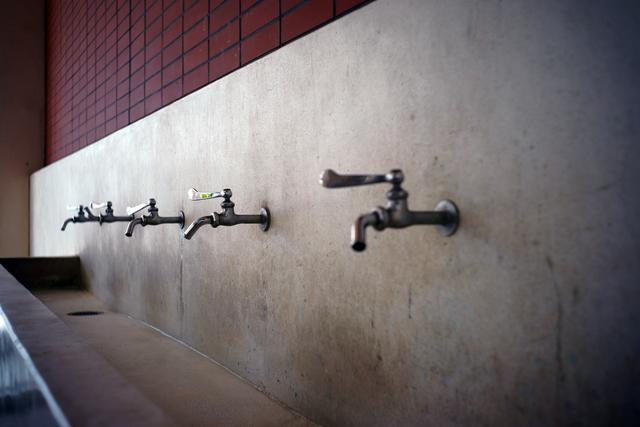 水が出る水道