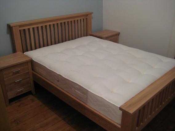 ふかふかしているベッドパッド