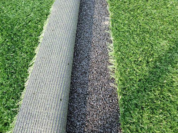綺麗に敷かれている人工芝