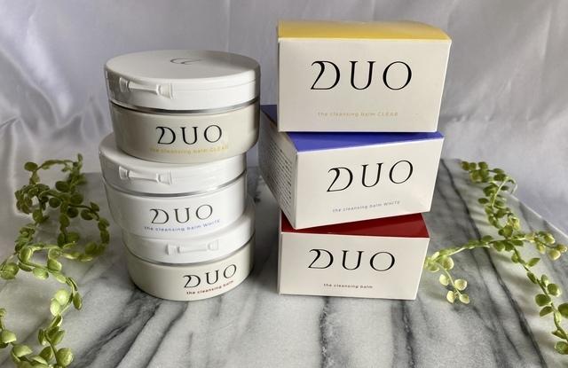 DUO ザ クレンジングバームの中身と箱