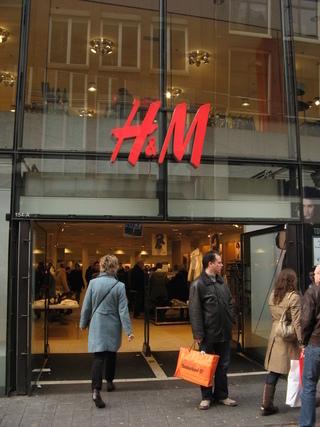 H&Mの店頭