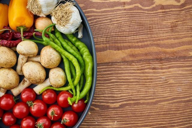 野菜とトレー