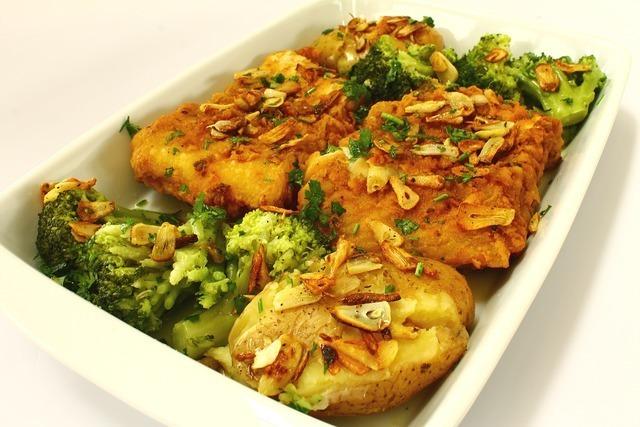 焼き魚と野菜