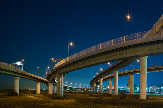 りんくうの高速道路