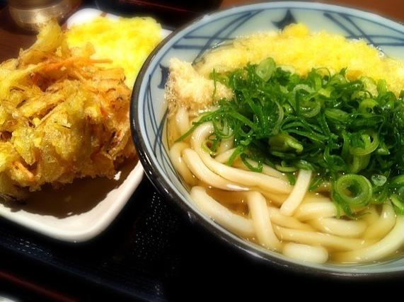 天ぷらとうどん