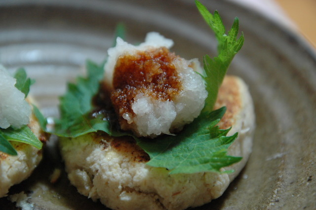 和風味の豆腐ハンバーグ