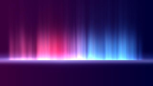 ピンクと青のグラデーション