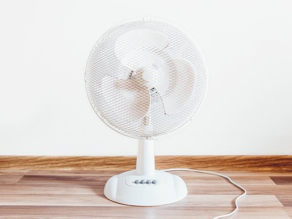 シンプルな扇風機