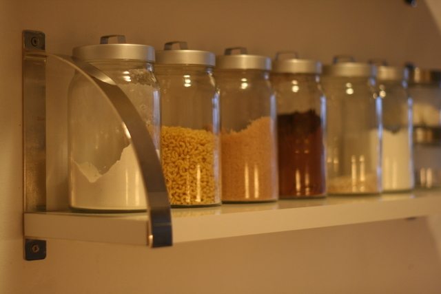 キッチンの保存容器