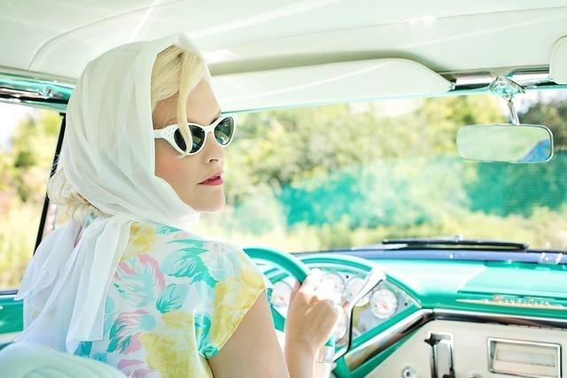 車で海水浴