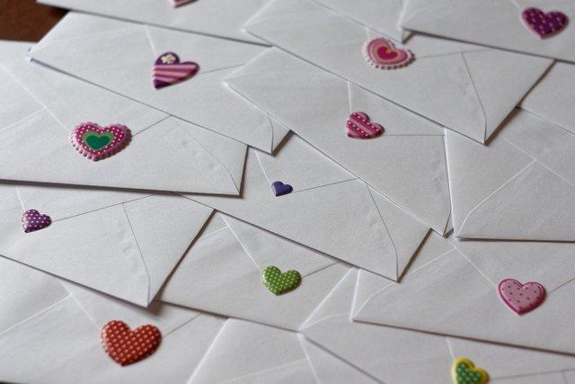沢山の手紙