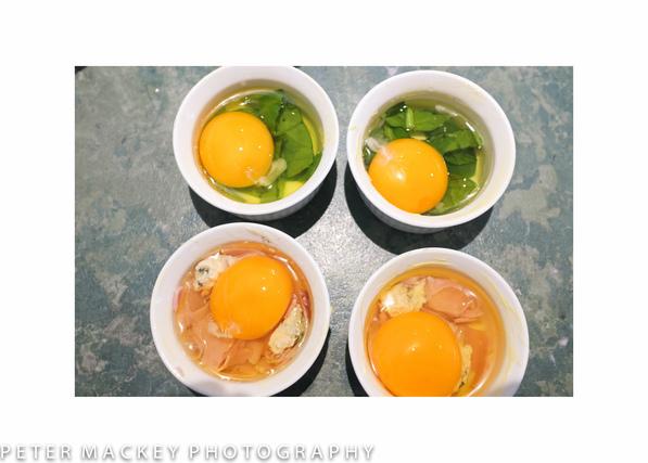 卵のココット料理