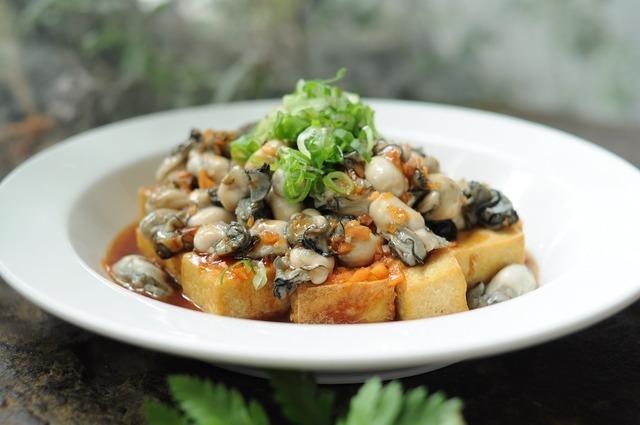 牡蠣の料理
