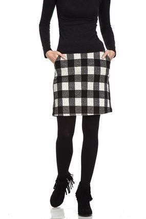 1年中楽しめるツイードスカート