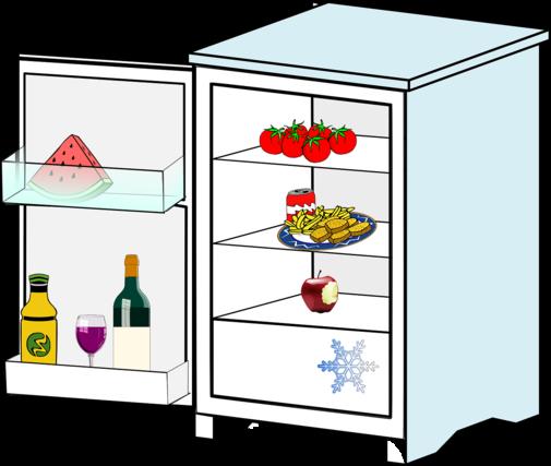 大きな冷蔵庫