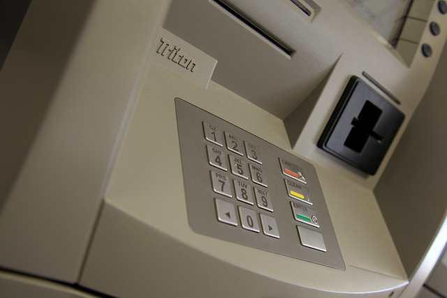 ATMの機械