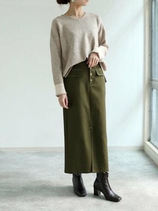 パンツにもスカートにも合うブーツ